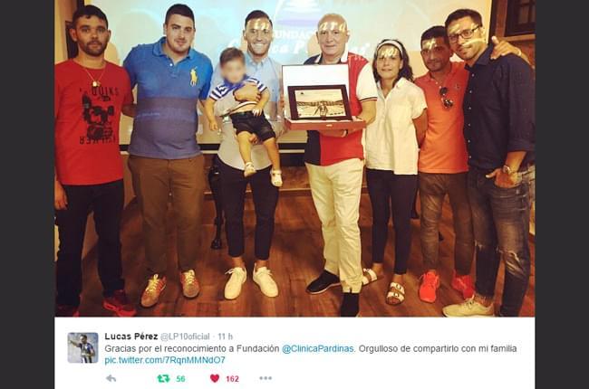 Twitter Lucas Pérez