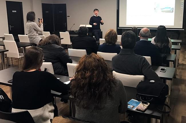 Presentación Instituto do Alento na Coruña - Clínica Dental Pardiñas