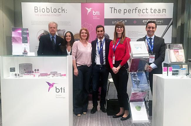 Dr. Simón Pardiñas also had the opportunity to share the congress with the fellows of the BTI Biotechnology Institute in the capital of Croatia.