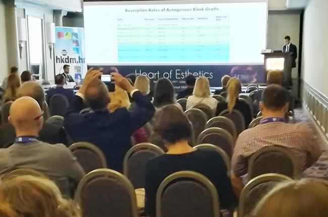 El doctor Simón Pardiñas López fue ponente en el 14º congreso anual de la European Society of Cosmetic Dentistry (ESCD), celebrado en Zagreb (Croacia).