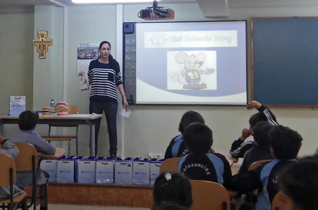 Charlas de saúde bucodental en colexios da Coruña