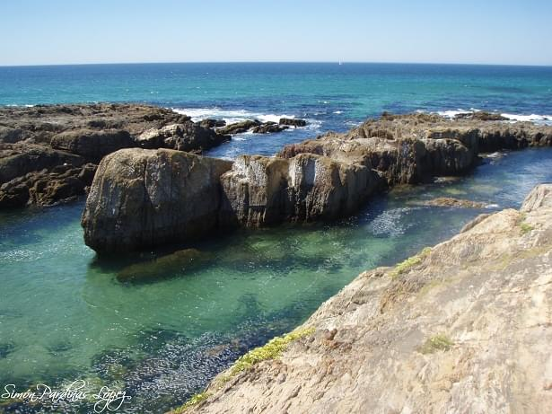 Praia Rio Sieira en Ribeira