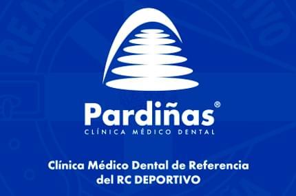 La Clínica Médico Dental Pardiñas será el centro de referencia del Real Club Deportivo de La Coruña en la temporada 2017-2018.
