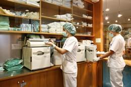 Área de esterilización