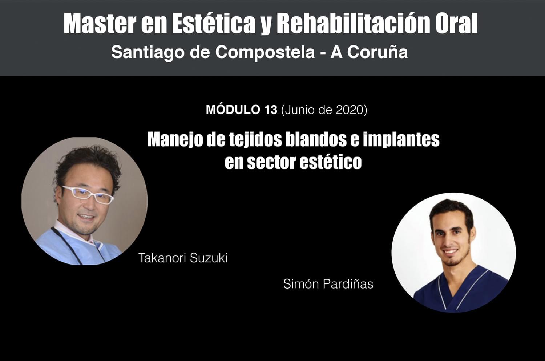 El Dr. Simón Pardiñas López impartirá uno de los módulos junto al Dr. Takanori Suzuki