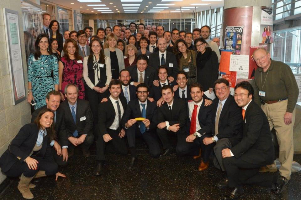 Asistentes al Tarnow Alumni day en la Universidad de Columbia