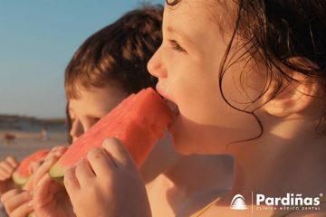 sensibilidad dental en niños comiendo